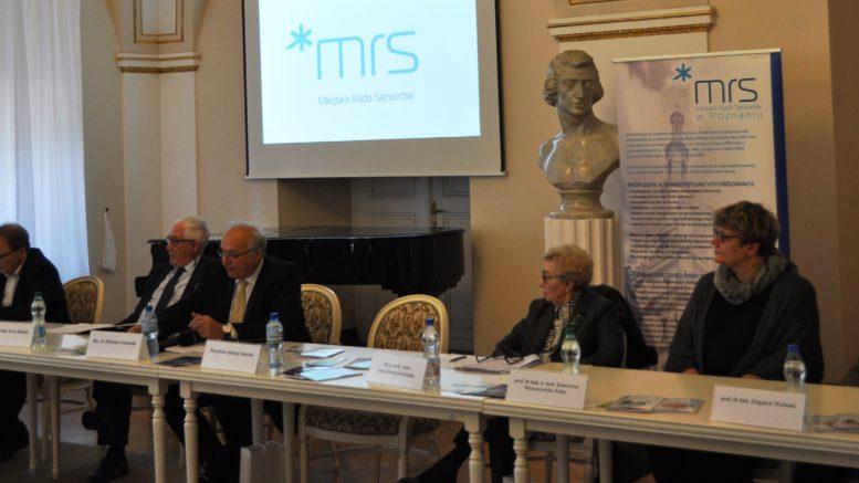 Konferencja Miejska Rada Seniorów Poznań Słowo Seniora