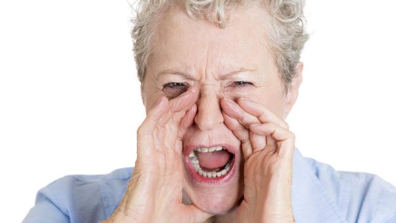 Agresja niepełnosprawnego seniora