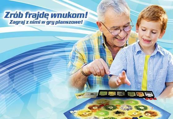 Granie Międzypokoleniowe w gry planszowe na Ursynowie