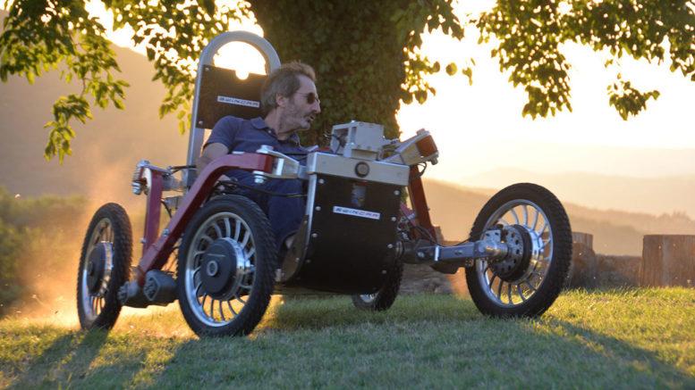 Pojazd Swincar dla seniorów