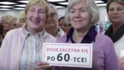 Seniorzy po 60 na targach senioralnych dla seniorów