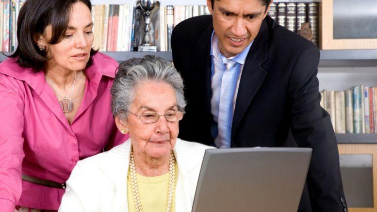 Konto internetowe dla seniora