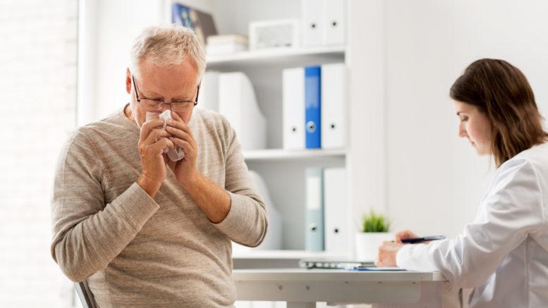 Senior nieżyt nosa rinozine