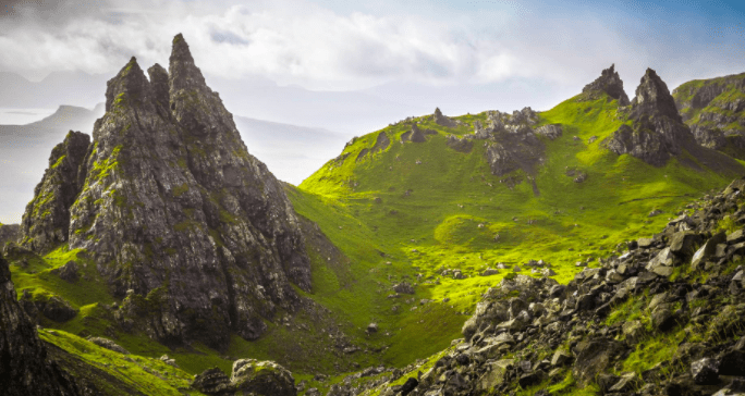 Starzec ze Storr - Old Man of Storr