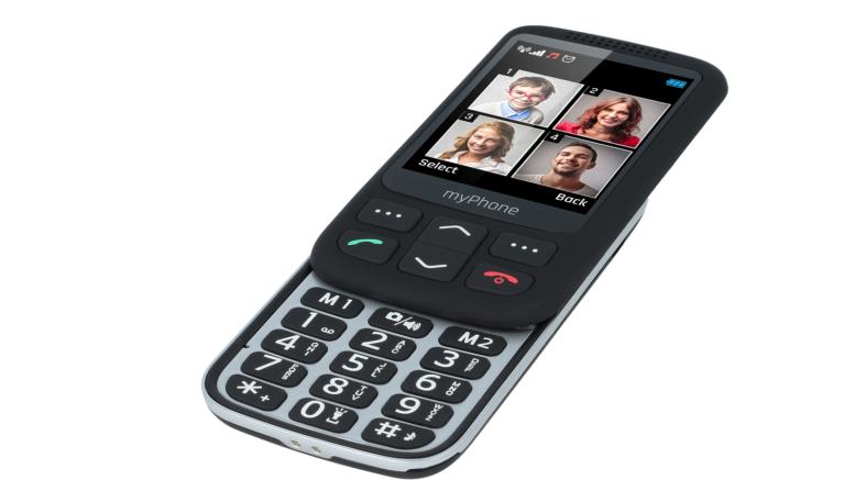 telefon wysuwany myPhone Halo S typu SLIDER