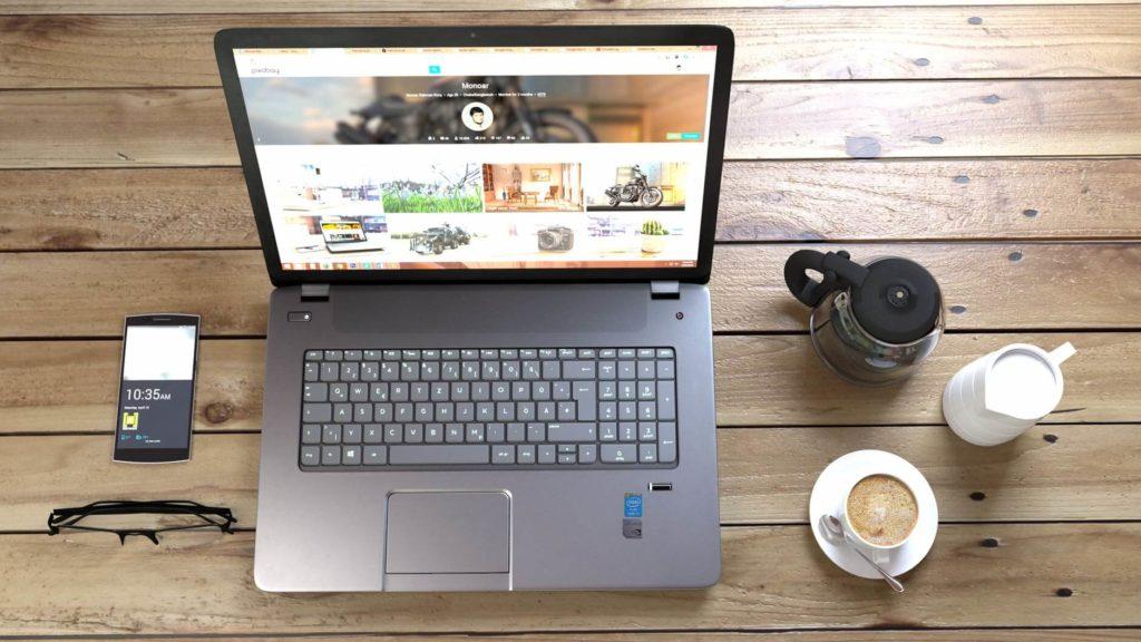 Do tworzenia bloga potrzebny będzie Ci tylko laptop