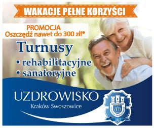 Turnusy Uzdrowisko Kraków Swoszowice