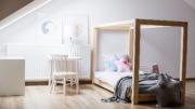 łóżko sosnowe czy z ikea