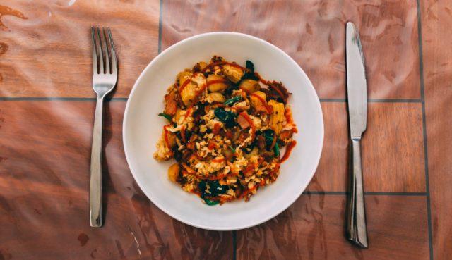 alt= warzywa mogą być podawane zarówno z mięsem jak i rybami