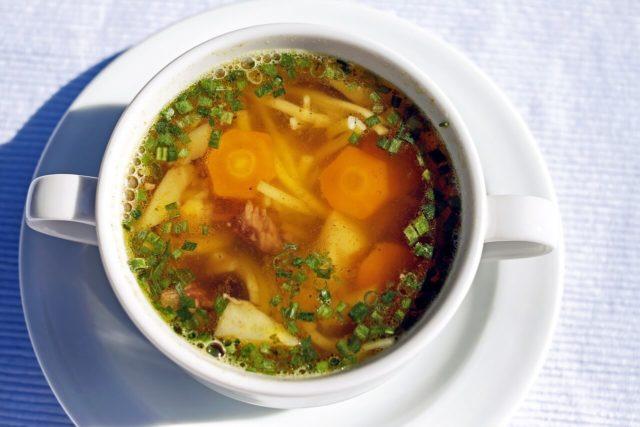 alt= warzywa mrożone do główny składnik zup