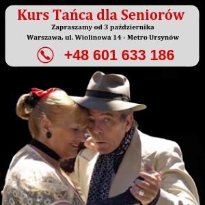 Kurs Tańca dla Seniorów Warszawa Ursynów