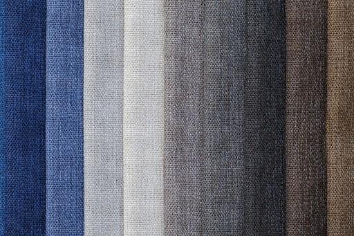 Różne kolory materiałów