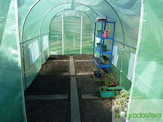 namiot foliowy na pomidory tunel
