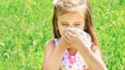 wnuczka z alergią