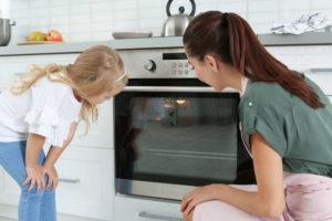 zimna szyba w kuchence