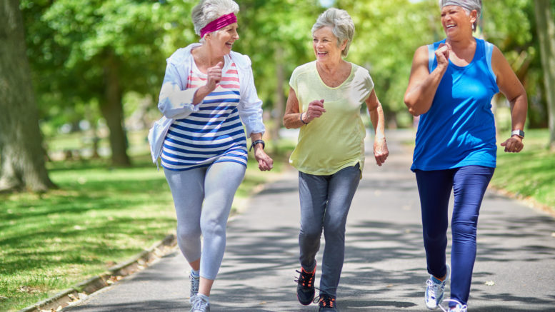 polskie seniorki biegaja