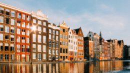 wspaniałe miasto amsterdam