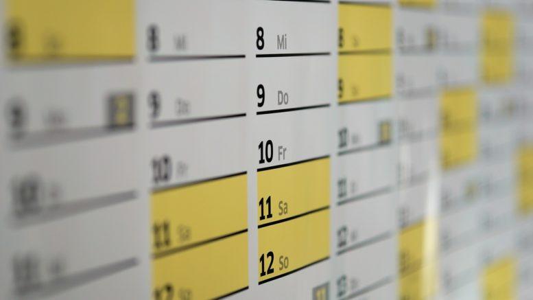 kalendarz pozyczania