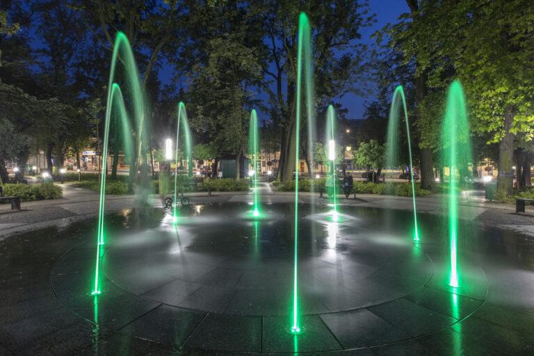 fontanna w busko zdroju